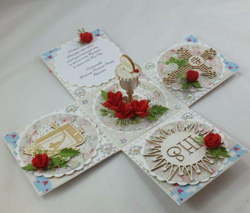 kartka ręcznie robiona, chrzest, komunia, prymicje, urodziny, ślub, haft pasja (2)