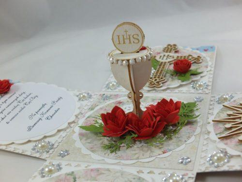 kartka ręcznie robiona, chrzest, komunia, prymicje, urodziny, ślub, haft pasja (3)