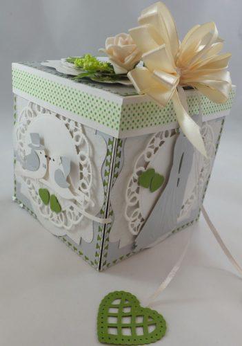 Kartka ręcznie robiona dzień nauczyciela, urodziny, chrzest, ślub, rocznica, roczek osiemnastka, walentyni, życzeniaexploding boxDSCF4010