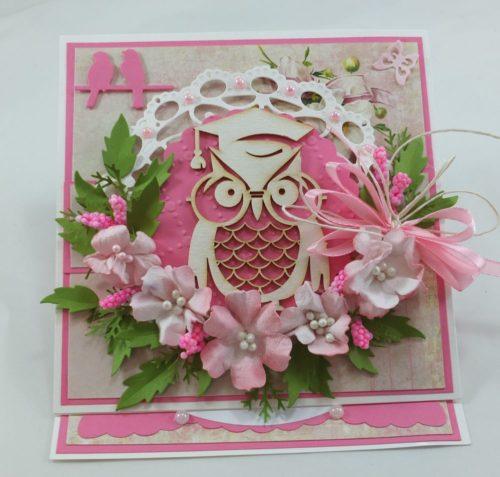 kartka ręcznie robiona, życzenia,imieniny, urodziny, ślub, komunia, chrzest, roczek, wykrojnik  (146)