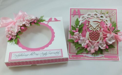kartka ręcznie robiona, życzenia,imieniny, urodziny, ślub, komunia, chrzest, roczek, wykrojnik  (147)