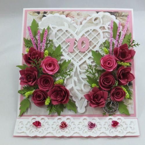 kartka ręcznie robiona, życzenia,imieniny, urodziny, ślub, komunia, chrzest, roczek, wykrojnik (35)