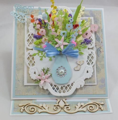 kartka ręcznie robiona, życzenia,imieniny, urodziny, ślub, komunia, chrzest, roczek, wykrojnik (56)