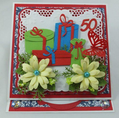 kartka ręcznie robiona, Urodziny, imieniny, komunia, chrzest, Dzień Nauczyciela.Dzień Matki, Babci, Dziadka TatyJPG (69)