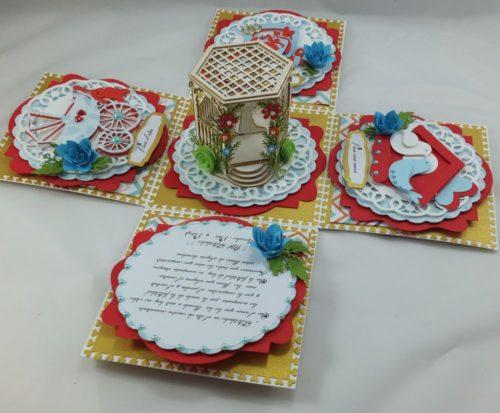 kartka ręcznie robiona, Urodziny, imieniny, komunia, chrzest, Dzień Nauczyciela.Dzień Matki, Babci, Dziadka TatyJPG (75)