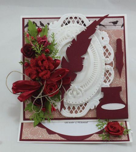kartka ręcznie robiona, chrzest, komunia, prymicje, urodziny, ślub, haft pasja (6)