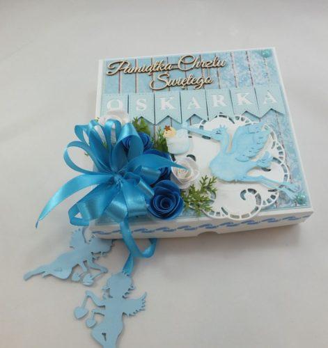 kartka ręcznie robiona, chrzest, komunia, prymicje, urodziny, ślub, haft pasja (7)