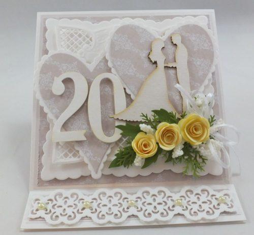kartka ręcznie robion, życzenis ślub, chrzest, urodziny imieniny, rocznica, wykrojnik (2)