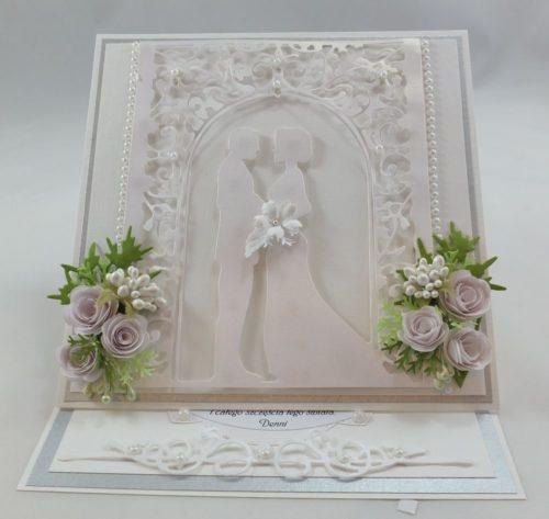 kartka ręcznie robion, życzenis ślub, chrzest, urodziny imieniny, rocznica, wykrojnik (5)