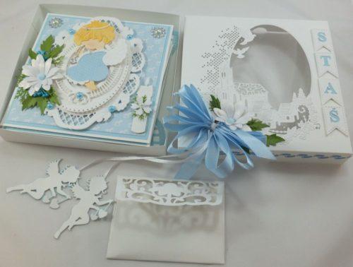 kartka ręcznie robiona, chrzest, komunia, prymicje, urodziny, ślub, haft pasja (15)