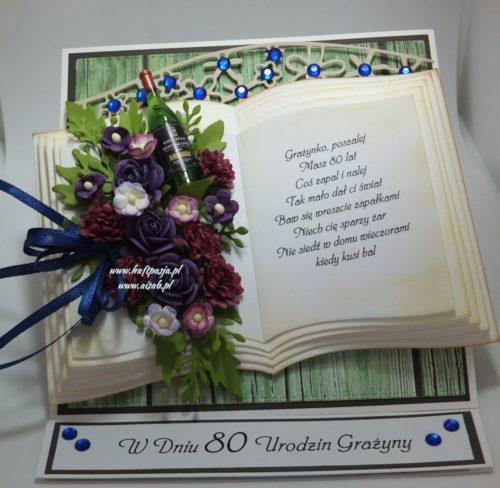 Aisab,kartki ręcznie roboione exploding box, komunia, urodziny, imieniny, rocznica, roczek, ślub, 18, rocznica, życzenia,DSCF4003 (11)