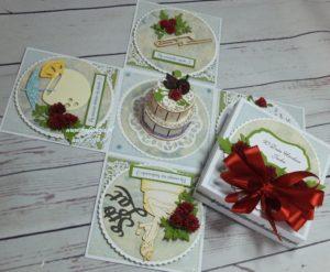 Aisab,kartki ręcznie roboione exploding box, komunia, urodziny, imieniny, rocznica, roczek, ślub, 18, rocznica, życzenia,DSCF4003 (18)