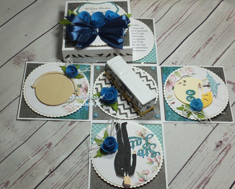 Aisab,kartki ręcznie roboione exploding box, komunia, urodziny, imieniny, rocznica, roczek, ślub, 18, rocznica, życzenia,DSCF4003 (8)